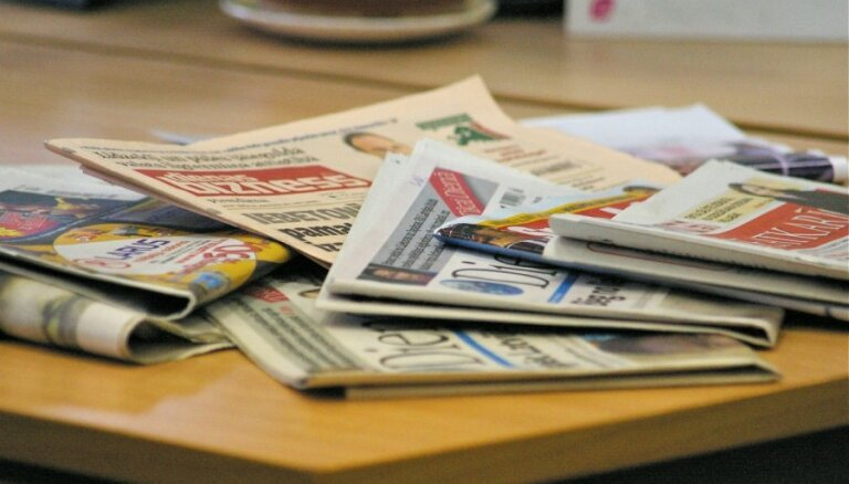 Pērn pārdotākā avīze Latvijā - 'Vesti segodņa'