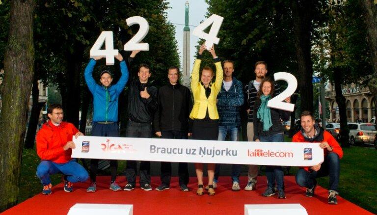 Reģistrāciju 'Lattelecom' Rīgas maratonam atklās ar 'Apņemšanās dienu' pie Brīvības pieminekļa