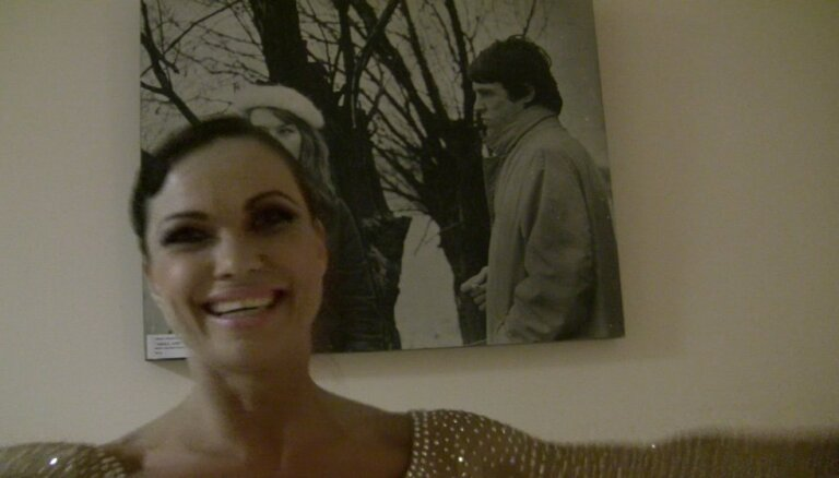 Video: Evija Skulte šova 'Dejo ar zvaigzni' aizkulisēs