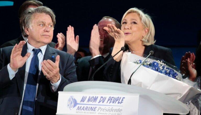 Lepēna kandidēs Francijas parlamenta vēlēšanās