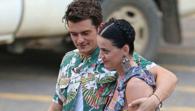 ФОТО: Орландо Блум и Кэти Перри больше не скрывают свой роман