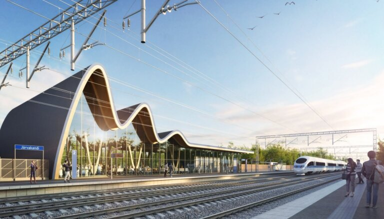 Газета: прокладка Rail Baltica обойдется дешевле, чем подобные проекты в Европе