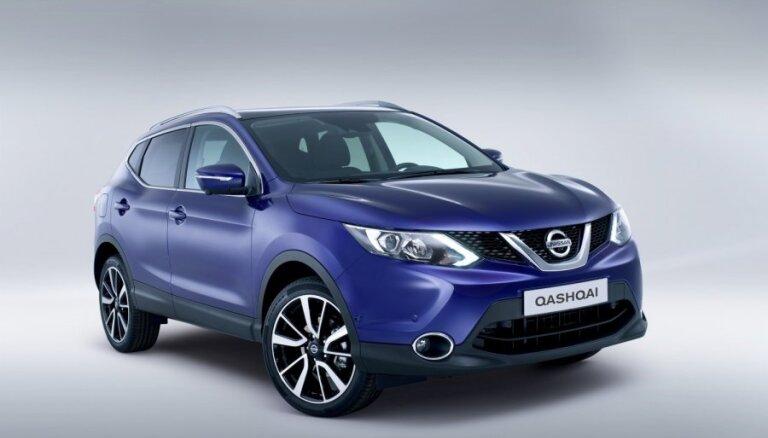 Cамый популярный новый автомобиль в Латвии - Nissan Qashqai
