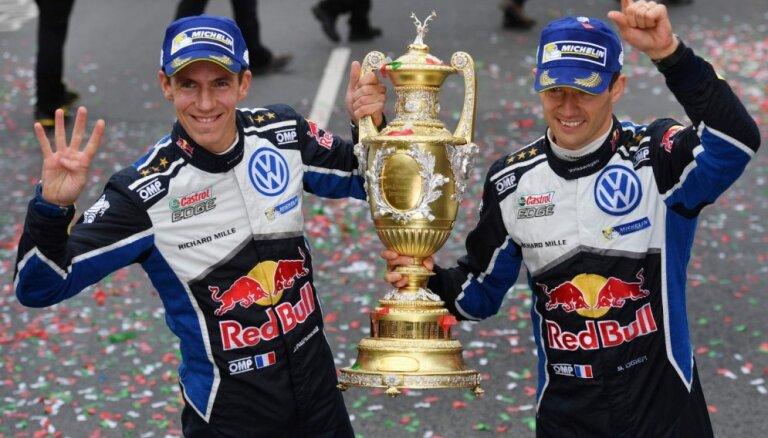 Seškārtējais čempions Ožjērs pēc nākamās sezonas pametīs WRC