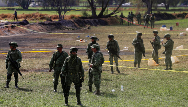 Более 70 человек погибли в результате взрыва трубопровода в Мексике