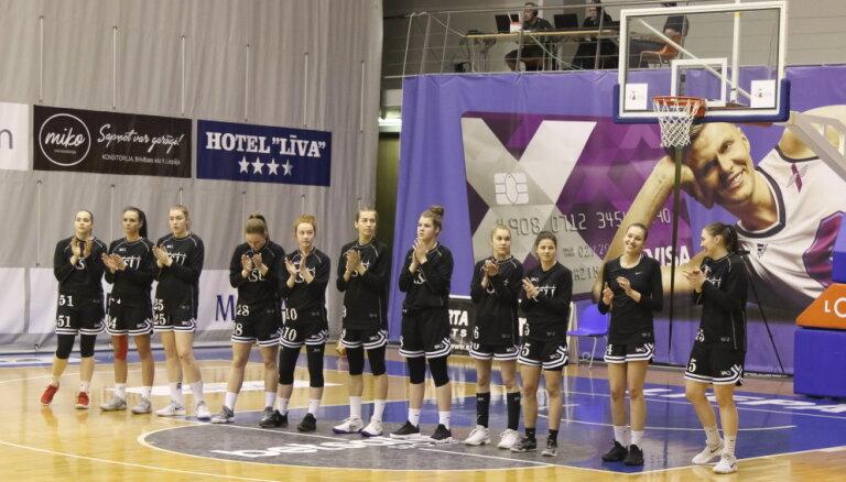 RSU basketbolistes uzvar Klaipēdas 'Fortūnu' apvienotā čempionāta elites grupas mačā