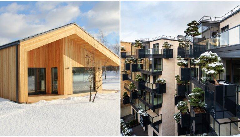 ФОТО. Как выглядят жилые дома, ставшие победителями Премии года в латвийском строительстве