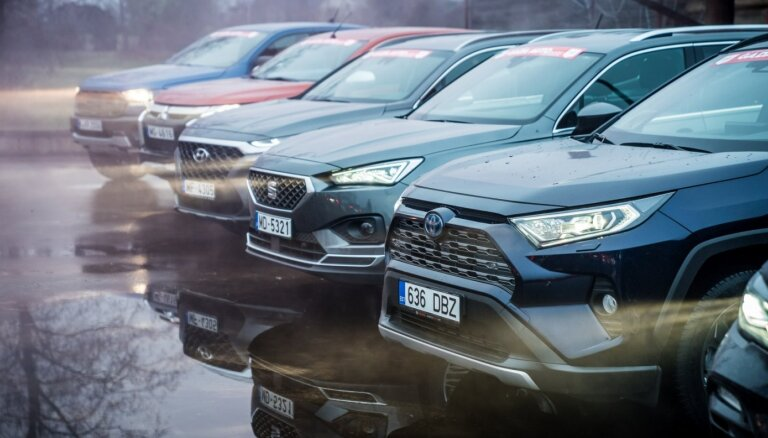 Auto pārdošanas apmēri šogad Latvijā varētu samazināties par 35-40%