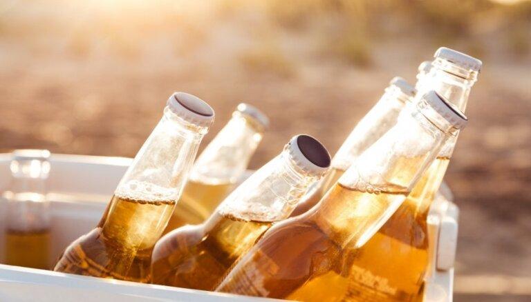 Вопреки жаркому лету производство латвийского пива упало; потребление увеличилось за счет импорта