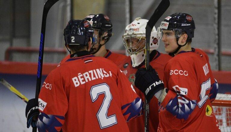 'Prizma' OHL mačā apspēlē 'Kurbads' hokejistus