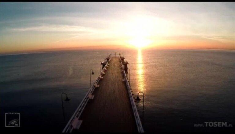 Video: Rudenīgas sajūtas skaistajā Polijas piejūras pilsētā Gdiņā
