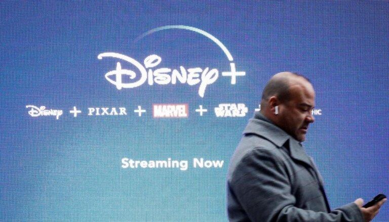 'Disney Plus' pirmajās nedēļās piesaistījis 26,5 miljonus abonentu