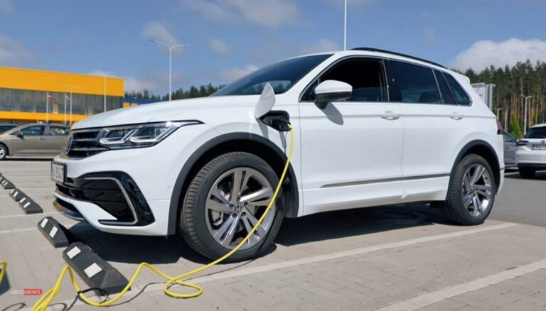 Volkswagen Tiguan eHybrid: чем удивили немцы (ВИДЕО)