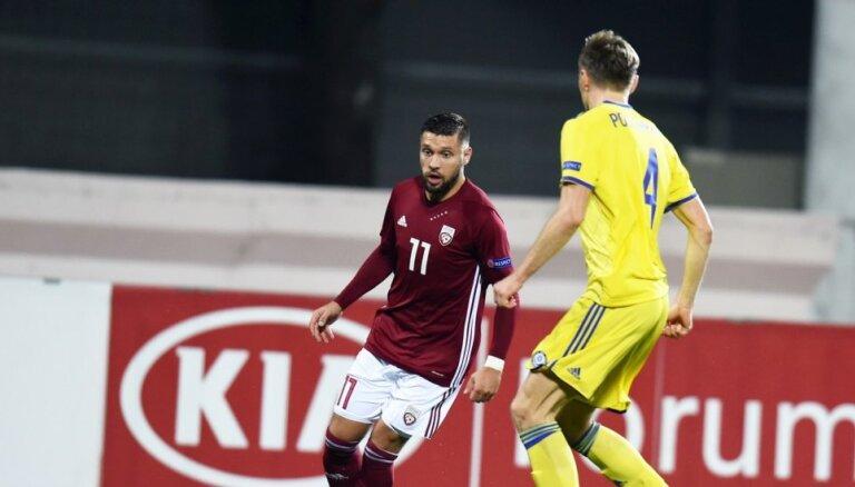 UEFA Nāciju līga futbolā: Latvija - Kazahstāna. Teksta tiešraide