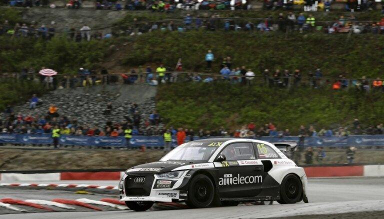 Nitišs 'World RX' Norvēģijas posmā nepārvar pusfināla barjeru; Baumanis neiekļūst pusfinālā