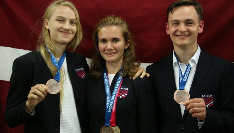 Latvijas komanda 'WorldSkills 2019' konkursā iegūst trīs medaļas