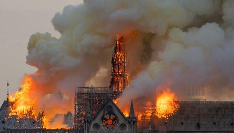 Нотр-Дам-де-Пари и четыре других ужасных пожара объектов культуры и религии