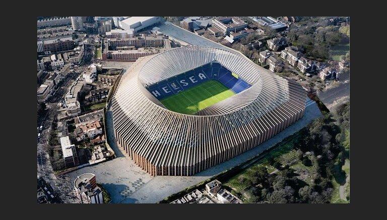 """ВИДЕО: Мэрия Лондона одобрила строительство новой 60-тысячной арены """"Челси"""""""