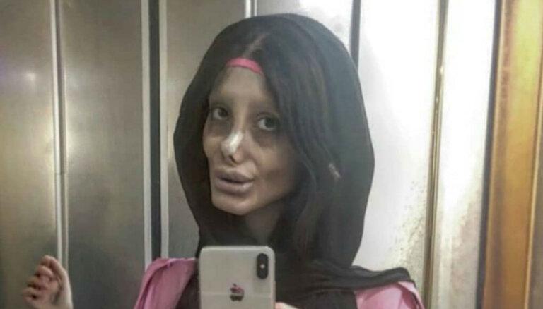 Arestēta irāņu influencere – Andželīnas Džolijas biedējošā līdziniece