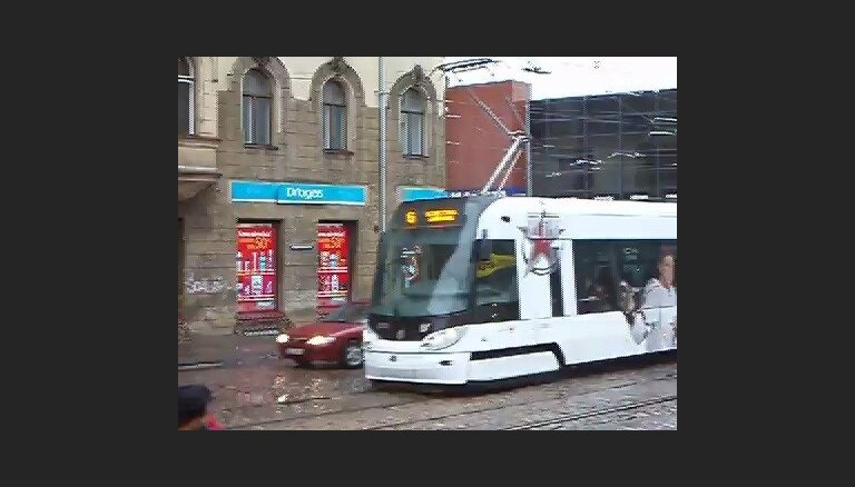 Трамвай, посвященный Матчу Звезд КХЛ