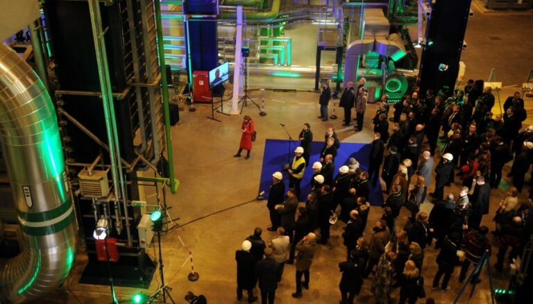 ФОТО: после реконструкции открыт второй блок Рижской ТЭЦ-2