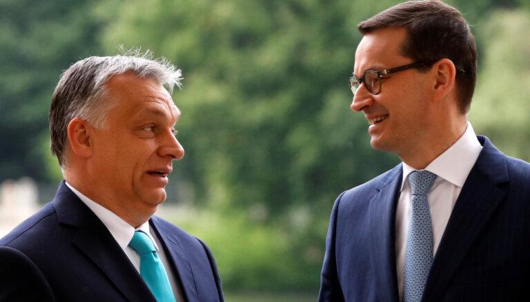 Dalībvalstu uzbrukumus tiesiskumam plāno sodīt, ierobežojot ES finansējumu