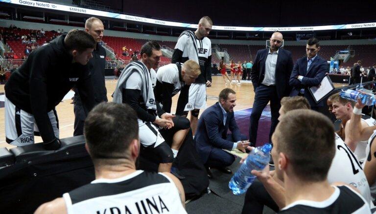 'Ogre' un 'VEF Rīga' Latvijas-Igaunijas basketbola līgā joprojām spēlē bez zaudējumiem
