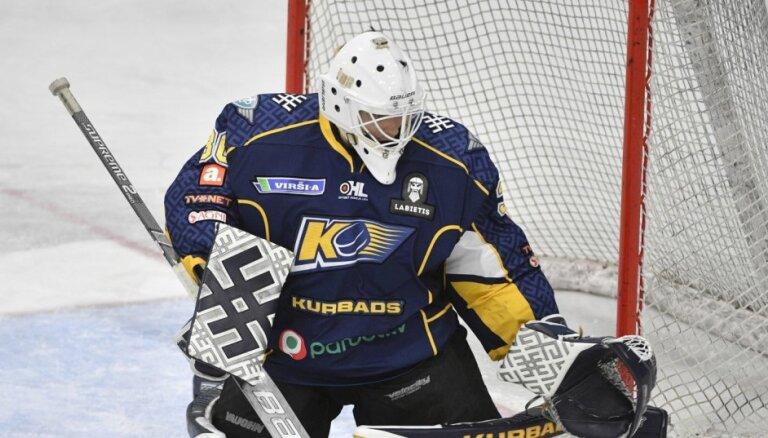 'Kurbads' hokejisti negaidīti zaudē 'Liepājai'