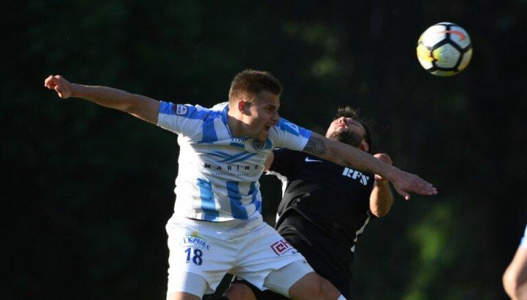'Riga' futbolisti mačā pret RFS atspēlējas un sper soli tuvāk Latvijas čempionu titulam