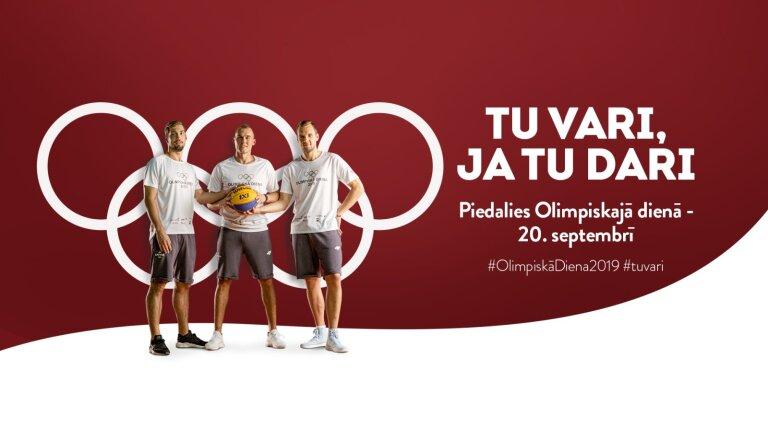 'Olimpiskā diena 2019' pulcēs rekordlielu dalībnieku skaitu visā Latvijā