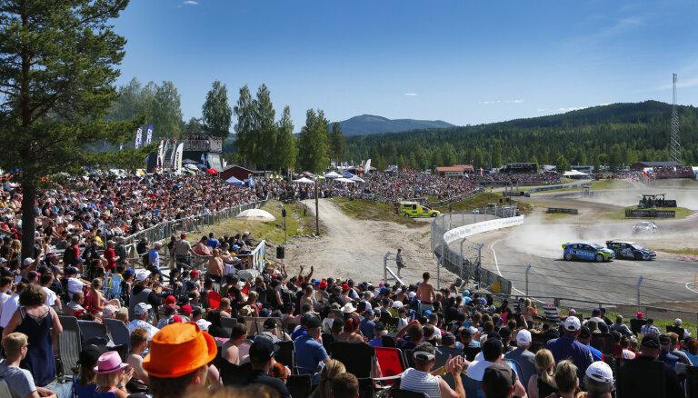Sākas 'World RX' maģiskā nedēļas nogale Zviedrijā