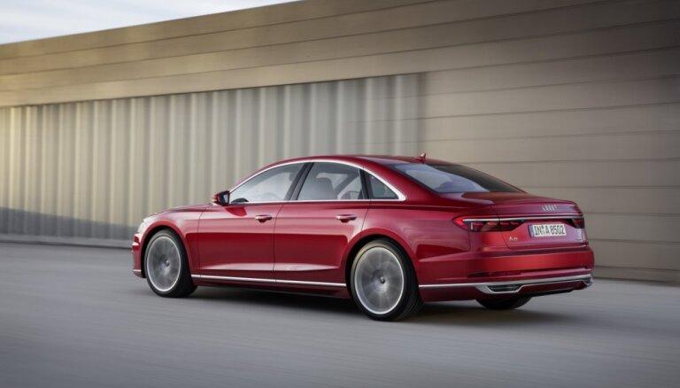 KNAB izbeidzis kriminālprocesu par Ventspils pašvaldības policijas iegādāto 'Audi A8'