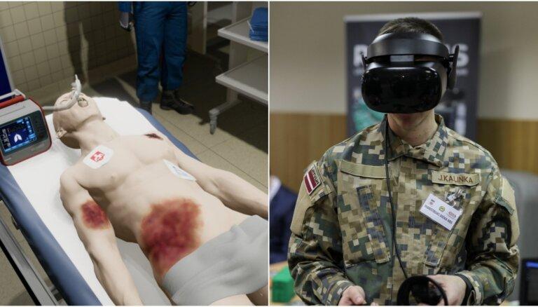 Latvieši sadarbībā ar ASV armiju radījuši pasaulē pirmo virtuālo traumu simulatoru