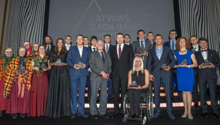 Zināmi 'Gada balva sportā 2017' nominanti