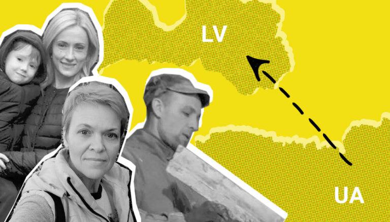 'Saldu dzīvi negaidīju.' Ukraiņu viesstrādnieki par to, kā viņiem klājas Latvijā