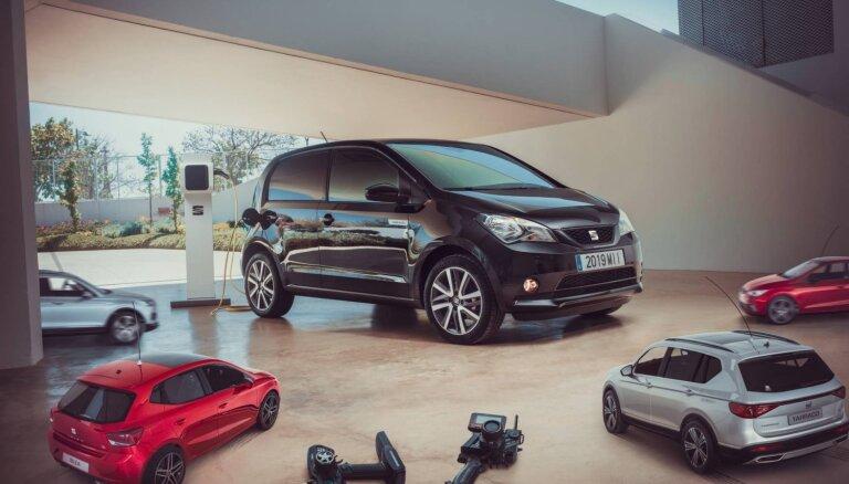 SEAT prezentējis savu pirmo sērijveida elektromobili