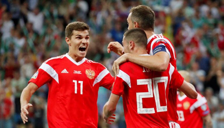 Сборная России по футболу обыграла киприотов в отборочном турнире ЕВРО-2020