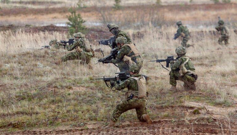 Sabiedroto karavīri pilnveido individuālās iemaņas Ventspils novadā