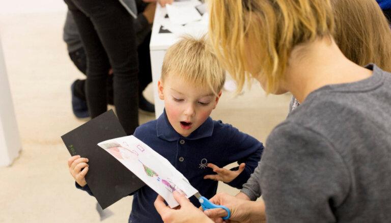 'Kim?' piedāvā bērniem iepazīt mākslu radošā un aizraujošā veidā