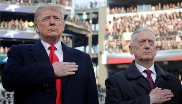 Глава Пентагона Джеймс Мэтисс объявил о своей отставке