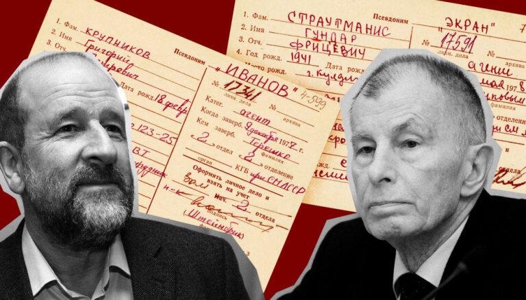 'Maisi vaļā': Strautmanis un Krupņikovs atzīst, ka atskaitījušies VDK par kontaktiem ar ārzemniekiem