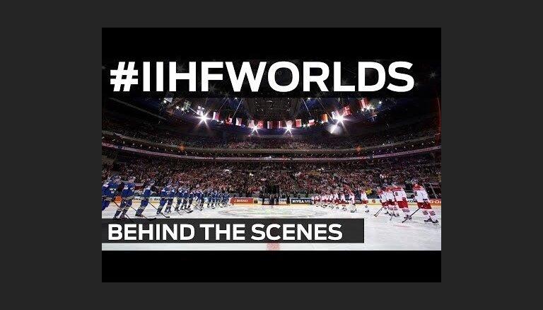 Video: Pasaules hokeja čempionāta aizkulises