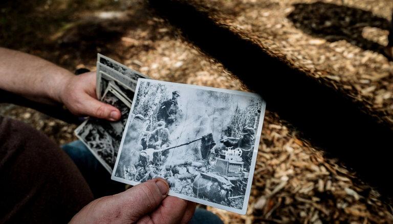 19 pret 300 – dzīva liecība par partizānu dzīvi un cīņām Ziemeļkurzemes mežos