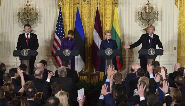 """В пародийной передаче """"Трамп"""" назвал Латвию """"Станкония"""", а """"Вейониса"""" — """"Борат"""""""