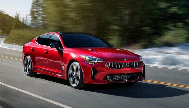 Igaunijā par 'Gada auto 2019' nosaukts 'KIA Stinger' modelis