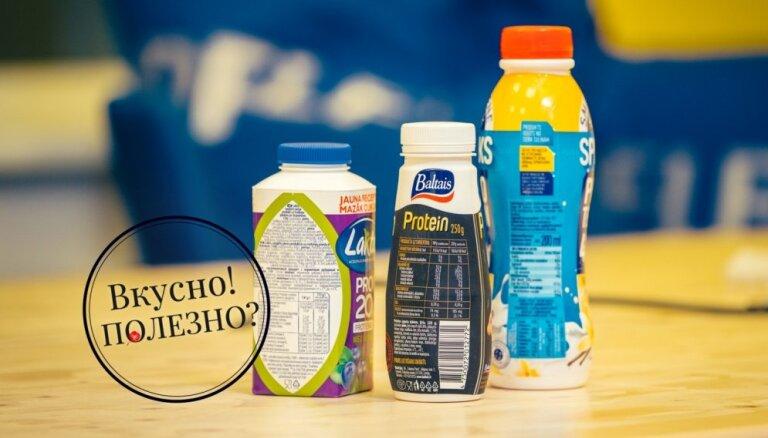 Вкусно! Полезно? Специалист по питанию оценивает состав белковых напитков