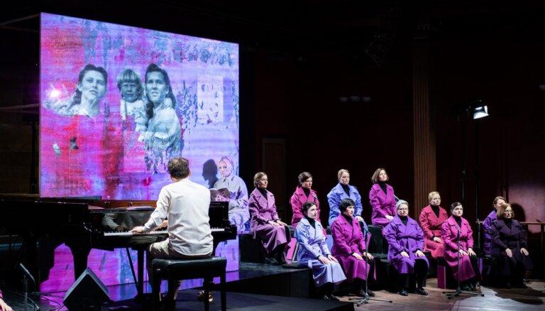 Latvijas Radio koris radījis koncertuzvedumu par godu disidentei Lidijai Lasmanei