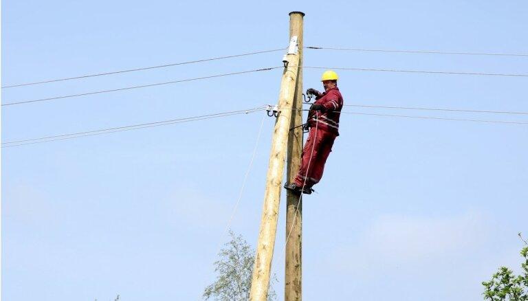 Elektroenerģijas piegādē ir virkne trūkumu, secina regulators