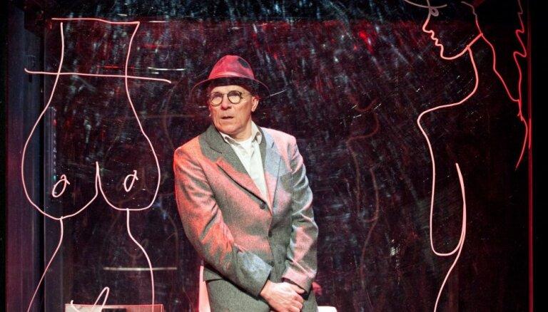 Pirmizrādi piedzīvos Liepājas teātra direktora Laukšteina monoizrāde