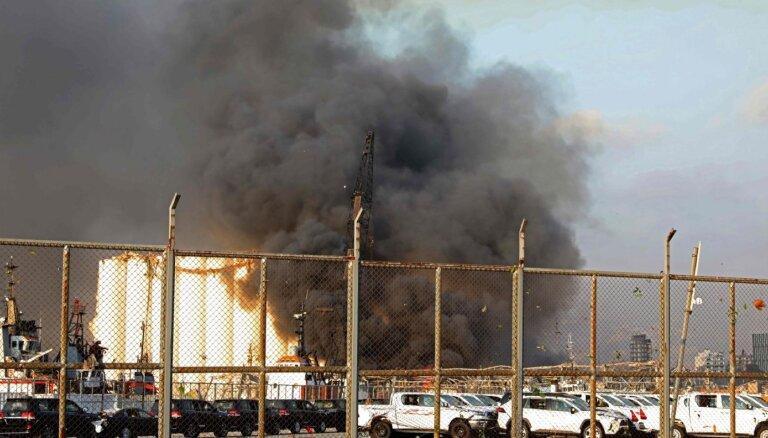 ĀM seko līdzi situācijai Beirūtā; pagaidām ziņu par sprādzienā cietušiem valstspiederīgajiem nav
